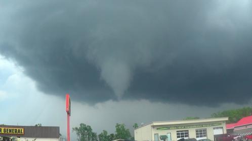 The long-established funnel VS tornado paradigm: flawed