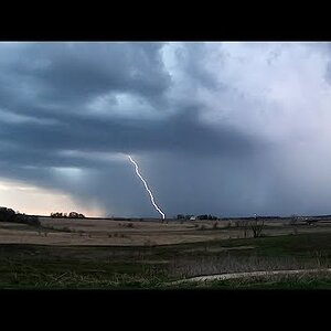 Thunderstorm Time-lapse on April 22, 2019